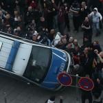 Islamófobos siembran el terror y dejan 44 policías heridos en la última manifestación
