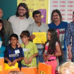 Niños y adolescentes reciben premios en Concurso Anímate V de cortometrajes