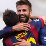 Messi y Neymar conducen al Barcelona a una nueva victoria; Atlético cayó con Valencia