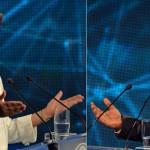 Dilma y Aécio se acusan de falsedad mutua en primer debate de la segunda vuelta