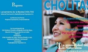 """Lanzan revista """"Cholitas"""", una """"Vogue andina"""": las protagonistas son mujeres indígenas"""