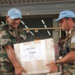 3.800 efectivos del Ejército trabajan en la custodia de las urnas