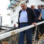 Luego de dos décadas comenzaron las obras de dragado del río Uruguay