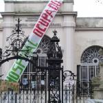 Trabajadores del Hospital Español deciden desocupar el centro de salud
