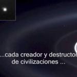 La Tierra no es más que un pequeñísimo grano que forma parte de una vasta arena cósmica (Carl Sagan)
