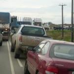 Impiden tránsito a los camiones de Montes del Plata por mal estado de rutas