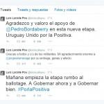 Rumbo al balotaje: Frente Amplio y Partido Nacional agradecen a sus votantes