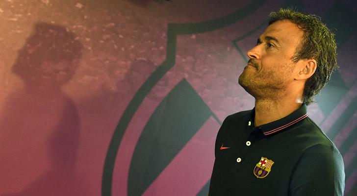 """Luis Enrique: """"Luis Suárez tendrá minutos"""" frente al Real Madrid"""