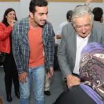 Mujica recibió este jueves a las primeras familias refugiadas en Uruguay por la guerra civil en  Siria