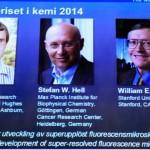 Premio Nóbel de Química para los desarrolladores de la microscopía fluorescente