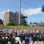 Reinauguran plaza de la Democracia o de la Bandera con una inversión de $ 42,5 millones
