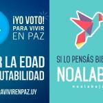 """Comisiones """"Para vivir en paz"""" y """"No a la Baja"""" presentan un mensaje a la población antes del Plebiscito"""