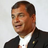 Rafael Correa, presidente de Ecuador, felicitó a Tabaré Vázquez por el resultado obtenido