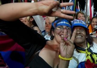 Encuestadora de opinión pública dan a conocer resultados de último sondeo previo a las elecciones