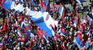 Tabaré Vázquez prometió un desarrollo humano integral del país, donde la dignidad de todos los uruguayos será el objetivo