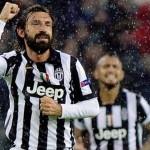 Juventus ganó el clásico con un gol de Pirlo en el último minuto
