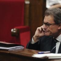 A la Justicia presidente de la Generalitat por consulta de referéndum independentista