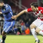Argentina venció 2-1 a Croacia en el regreso de Carlos Tevez