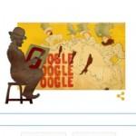Doodle de Google recuerda el nacimiento de Toulouse-Lautrec en su 150º aniversario