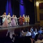 900 habitantes de Santa Rosa y 450 personas ciegas de todo el país asistieron al teatro