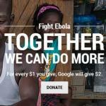 Google aporta 10 millones de dólares en vasto plan para luchar contra el ébola