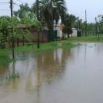 Inundaciones y vientos provocan evacuación de 324 personas en zona sur del país