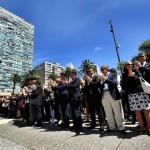 Jueces, fiscales, defensores de oficio y funcionarios se manifestaron por aumento salarial
