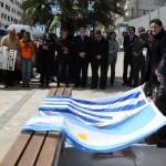Colocan Marca de la Memoria en Maldonado, en recuerdo de dos detenidos desaparecidos argentinos