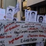 Marcha en Montevideo por 43 estudiantes desaparecidos en Iguala, México