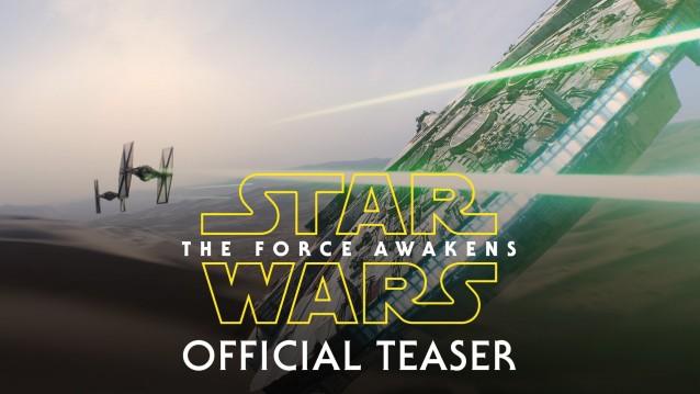 "Se presenta el primer trailer oficial de ""Star Wars VII: The Force Awakens"""