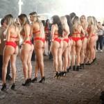 "Brasil: discutida ganadora del ""Miss Bumbum 2014"" hace topless y casi termina presa"