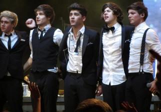 """One Direction es el grupo """"Artista del Año"""" para los American Music Awards"""