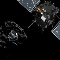 Primera sonda sobre un cometa envía información vital antes de quedar sin baterías