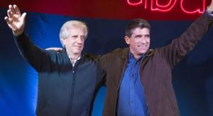 Tabaré Vázquez promete seguridad, educación e infraestructura para Canelones