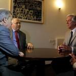 Tabaré Vázquez se reunió con otro diputado de Vamos Uruguay, Guillermo Facello