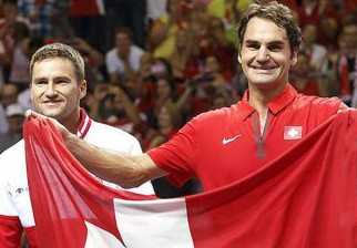 Suiza logró la Copa Davis por primera vez de la mano de Federer