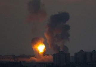 """Aviación israelita atacó """"posiciones terroristas de Hamas"""" en Franja de Gaza"""