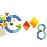 """Doodle de Google en el 119º aniversario de Anna Freud, hija del """"padre del psicoanálisis"""""""