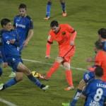 Barcelona igualó ante Getafe y se aleja del líder Real Madrid