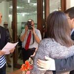 Registrales vuelven a realizar casamientos. Mujica dijo que hay voluntad para una solución
