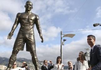 Cristiano Ronaldo tiene su estatua