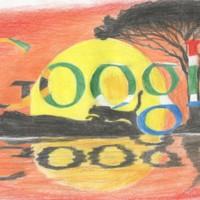 Sudáfrica: escolar de 11 años diseña doodle contra la caza furtiva, triunfador del año