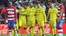 Emiliano Velázquez anotó su primer gol con el Getafe
