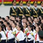 Gobierno chino pone estrictos límites para cantar el himno