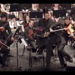La Orquesta Juvenil del SODRE de gira. (TNU)