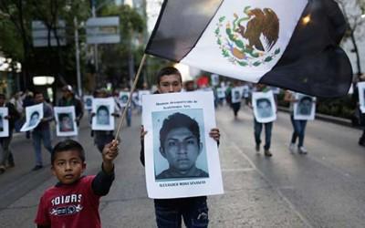 Gobierno mexicano suspendió búsqueda de normalistas de la escuela agraria de Ayotzinapa