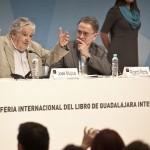 El presidente Mujica en la Feria Internacional del Libro de Guadalajara