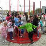 Plaza Casavalle festeja primer año con cápsula del tiempo