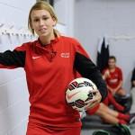La primera mujer en la historia que compite por el premio al mejor gol del año