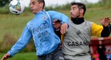 La selección sub-20 de Uruguay venció 3-0 a Colonia